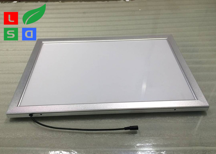 Low Flickering LED Snap Frame Light Box 30mm Frame Width For Display ...